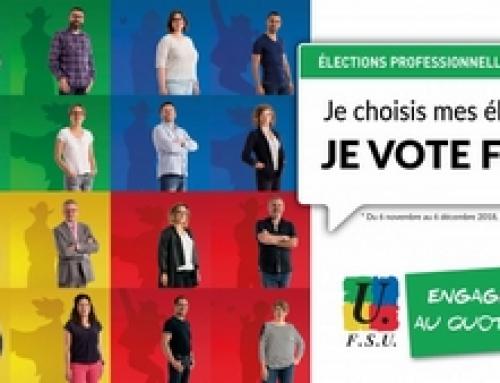Du 29 novembre au 6 décembre: le vote au CTA, un vote qui compte