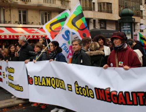 Grève du 12 novembre : soutien aux enseignants de 72% de la population