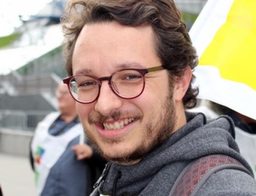 Julien Giraud, professeur d'E.P.S. au collège Aimé Césaire, élu FSU au Comité Technique Académique