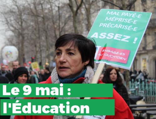 9 mai : l'Éducation mobilisée avec toute la Fonction publique !