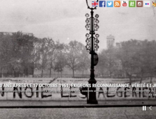60 ans après le 17 octobre 1961, exigeons reconnaissance, vérité et justice.
